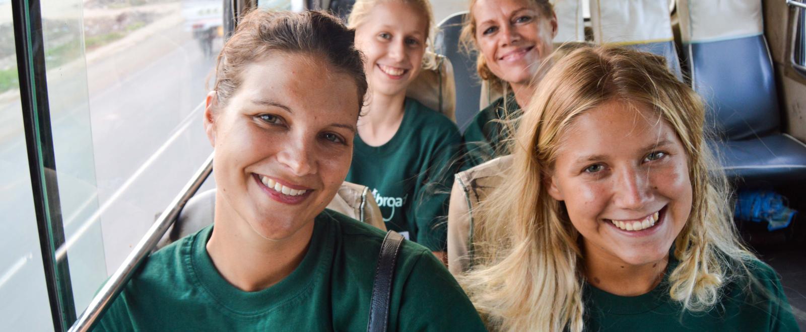 Projects Abroad Freiwillige aus der Schweiz in Tansania